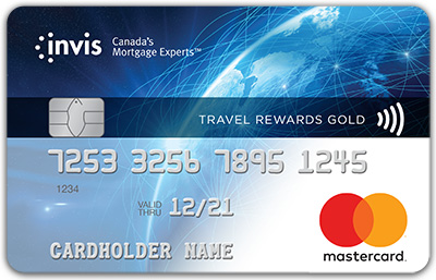 Invis Travel Rewards Gold Mastercard®